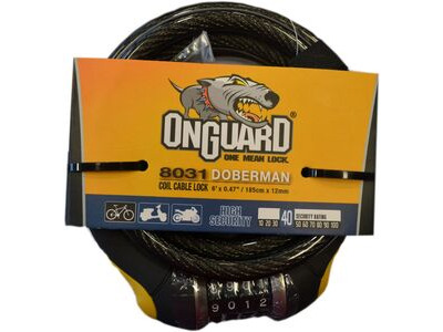 ONGUARD 8031 DOBERMAN CABLE LOCK