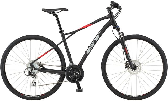 GT TRANSEO ELITE HYBRID BIKE click to zoom image