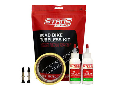 STANS NOTUBES ROAD BIKE TUBELESS KIT