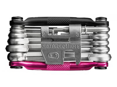 CRANK BROS M17 MULTI TOOL Black/Pink  click to zoom image